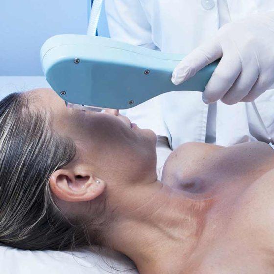 Fototerapia de rejuvenecimiento