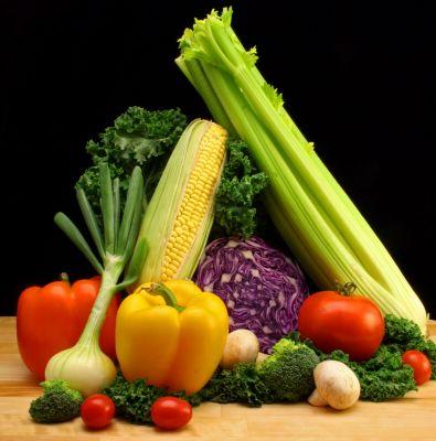 fibra fruta verdura