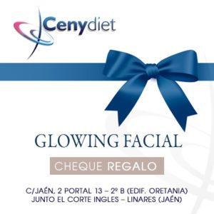 Glowing facial