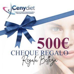 cheques regalo 500