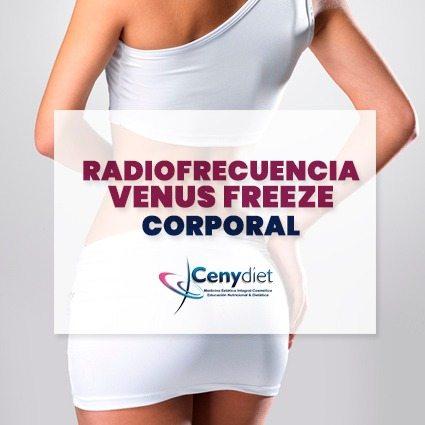 radio frecuencia venus freeze corporal